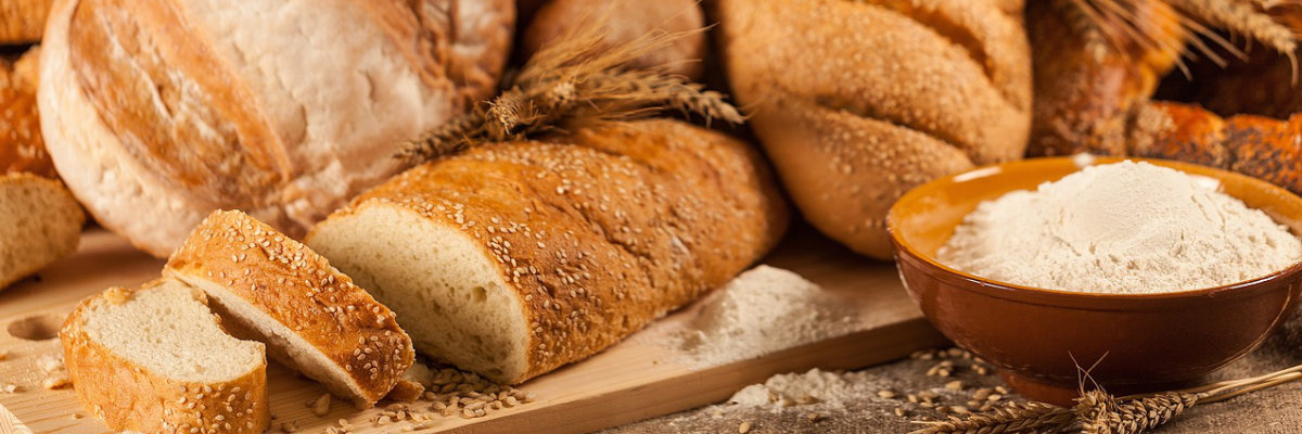 Mix di diversi tipi di pane