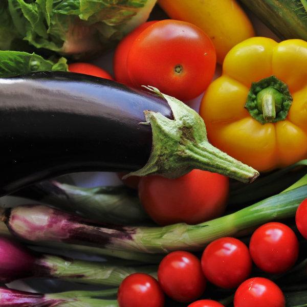 Cesto di verdure miste